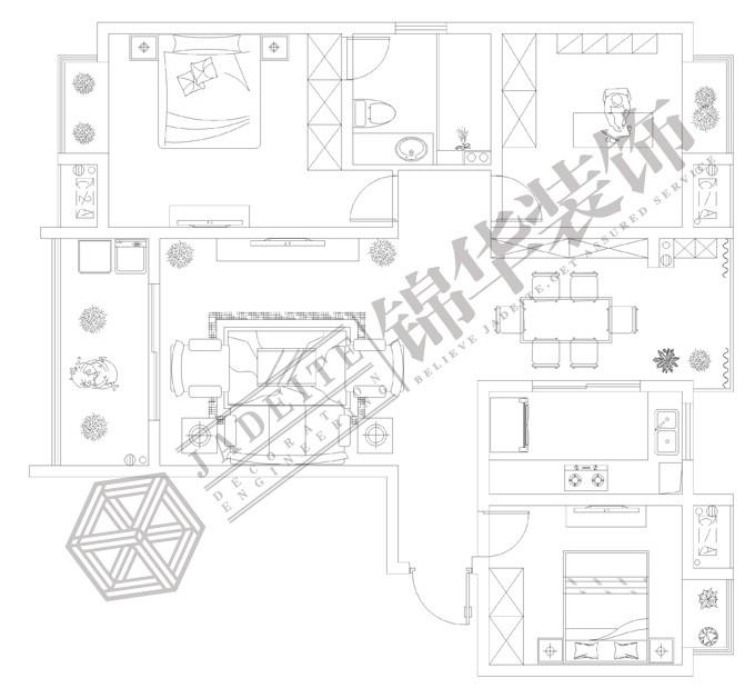 阳台小柜子内部结构图