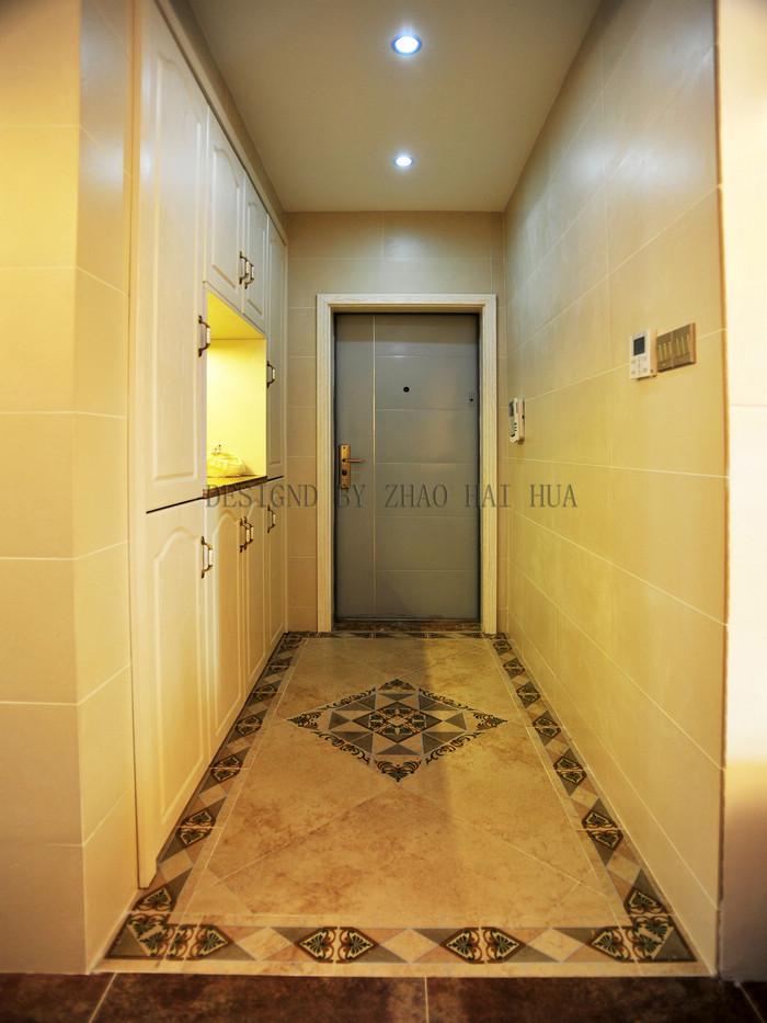 走廊装修效果图 法式三居室客厅走廊装修效果图   过道-装
