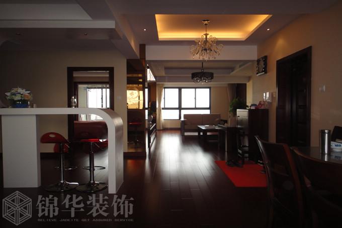 设计说明:此方案为现代中式风格,古朴淡雅色彩贯穿整个空间,米色的灯